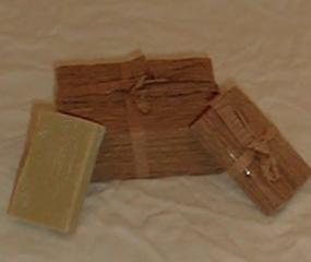 110g Seife mit Verpackung