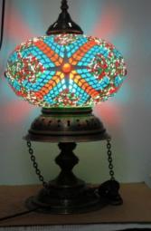 Mosaik Lampe 8